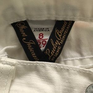 Lucky Brand White Jeans Made in The USA